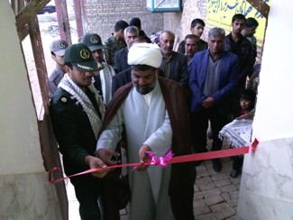 افتتاح پايگاه بسيج امام محمد تقي (ع) روستاهاي خانيك ، يگي ، مجد به مناسبت هفته بسيج