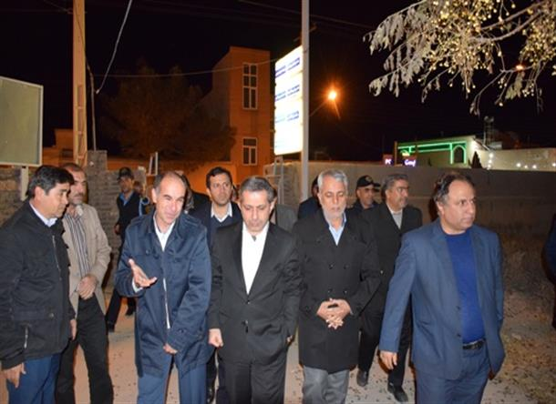 بازديد معاون محترم درمان وزير بهداشت از حوزه سلامت بشرويه