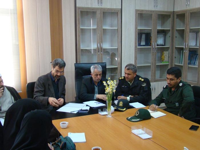 جلسه هماهنگي و برنامه ريزي ايام الله دهه فجر برگزار گرديد